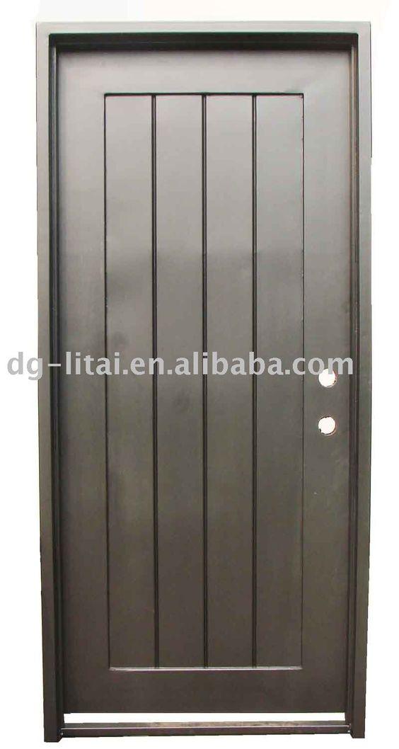 Dise o de la puerta de hierro forjado para nice house for Puerta diseno
