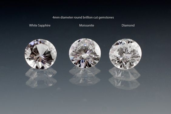 Many people looking for a engagement ring with a colorless center stone don't only have diamonds in to choose from. There are other durable and often more sustainable gemstone options like moissanites and white sapphires that provide a great and often more affordable alternative to diamonds. Let's look at the differences between white sapphires, moissanites and diamonds in more detail.
