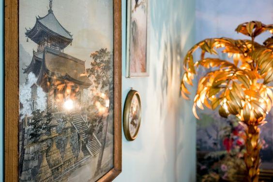 """Mit viel Liebe zum Detail werden im Showroom Metropol Park unterschiedliche Einrichtungsstile verdeutlicht. Close-up auf das Set """"Sanssouci"""". #interior #musterwohnung #showroom"""
