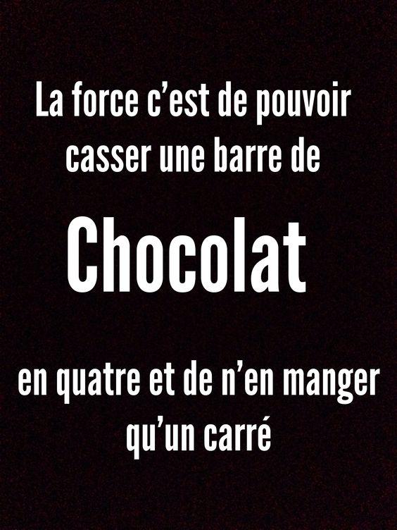 Humour chocolat: