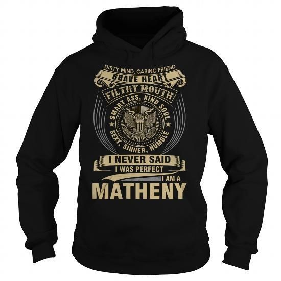 MATHENY - #gifts for guys #cool gift. MATHENY, sister gift,funny hoodie. ORDER HERE =>...