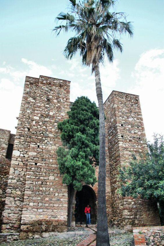 Fortificación interior en la Alcazaba, Málaga.