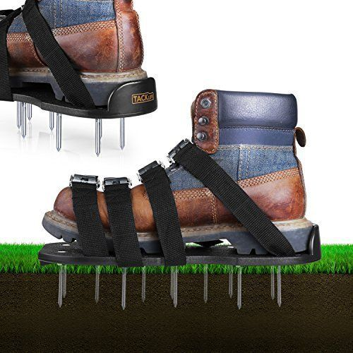 Spikey Shoes Aerator Shoes For Lawns Areator Shoes Best Lawn Mowing Shoes Modern Design In 2020 Aerate Lawn Lawn Soil Spike Shoes