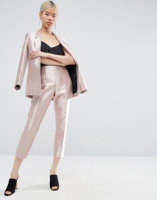 ASOS Ulitmate Pink Metallic Suit: