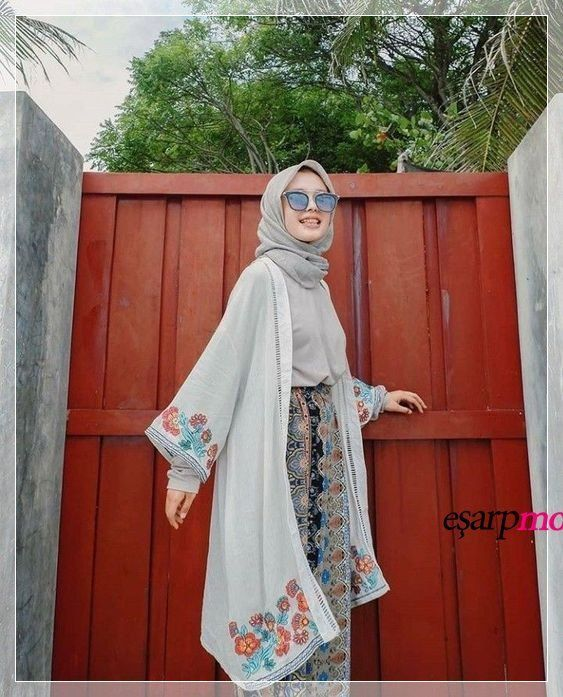 Baju Orange Cocok Dengan Jilbab Warna Apa