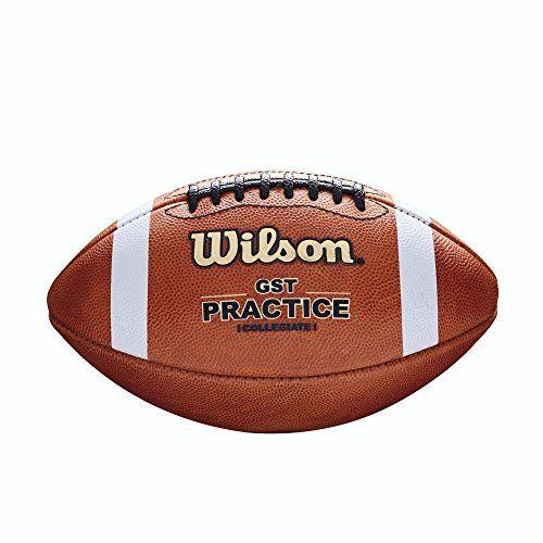 Wilson Gst Practice Football 1003 Pattern Football Flag Football High School Football