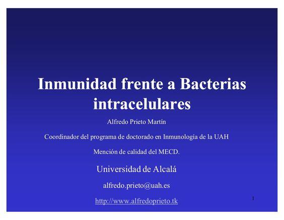 sistema-inmune-e-infeccion-bacterias-intracelulares-8646838 by degarden via Slideshare