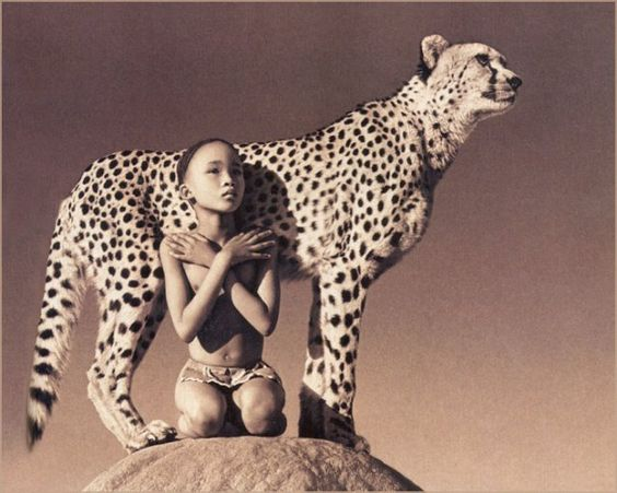 Photos by Gregory Colbert. Ashes and snow.: