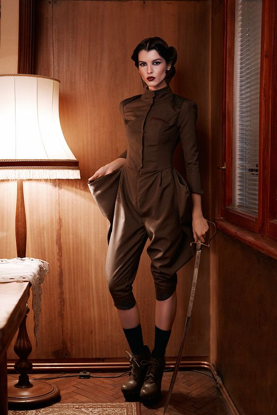 KNAPP The Post-war collection A/W 12/13 on Behance