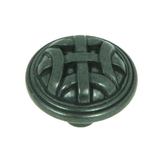 Stone Mill Hardware Cross Flory Cabinet Knobs - Pack of 5 - CP82115-