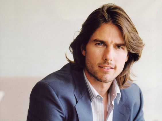 Image result for long haired actor tom cruise