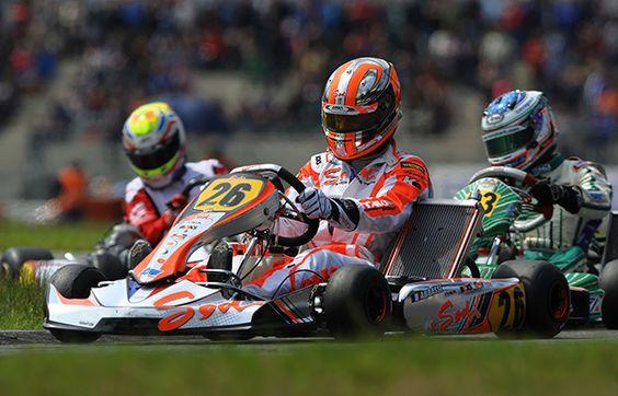 [SODI RACING TEAM - European Championship] Sodi sur le podium du Championnat d'Europe KZ