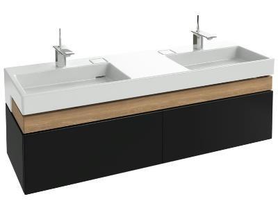 TERRACE - Meuble sous plan-vasque 150 cm