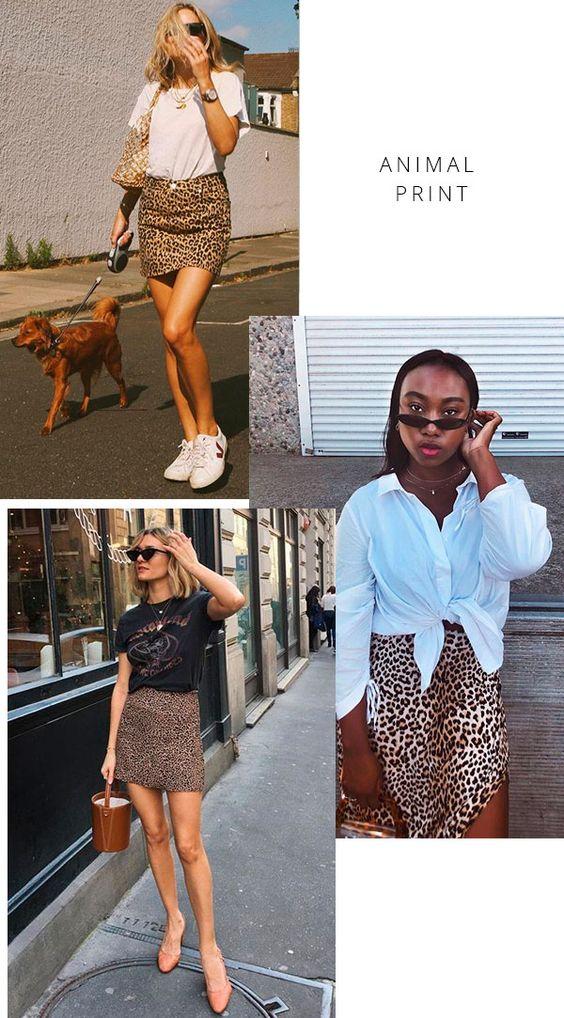 moda tendência: estampa animal print