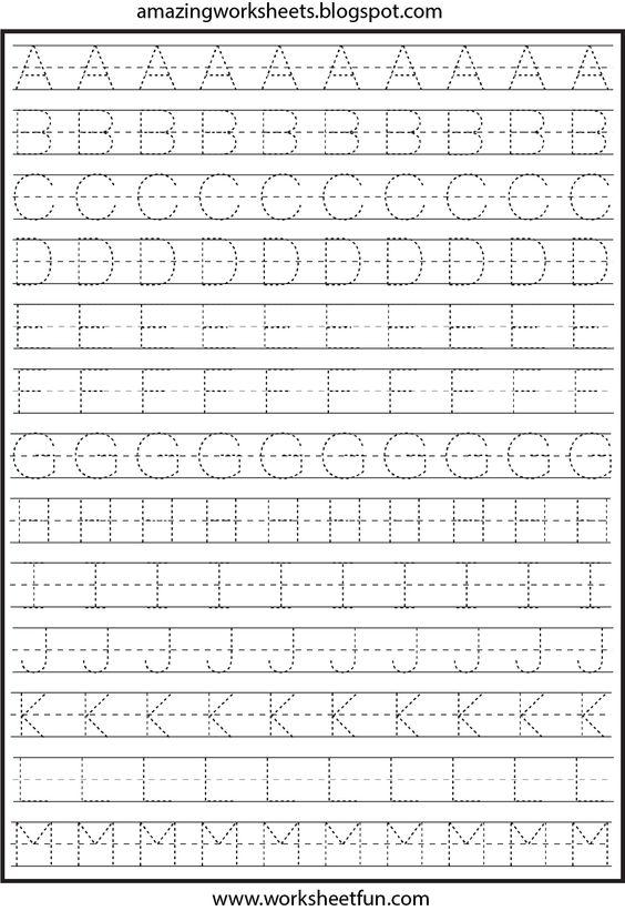 Number Names Worksheets : free printable alphabet writing ...