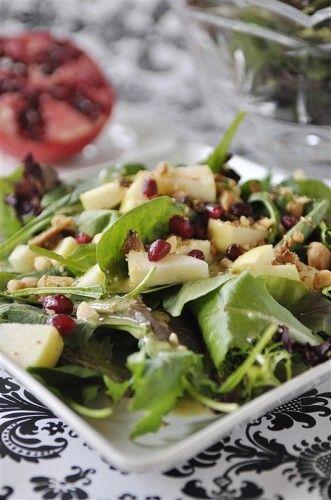 Pomegranates, Pomegranate seeds and Salads on Pinterest