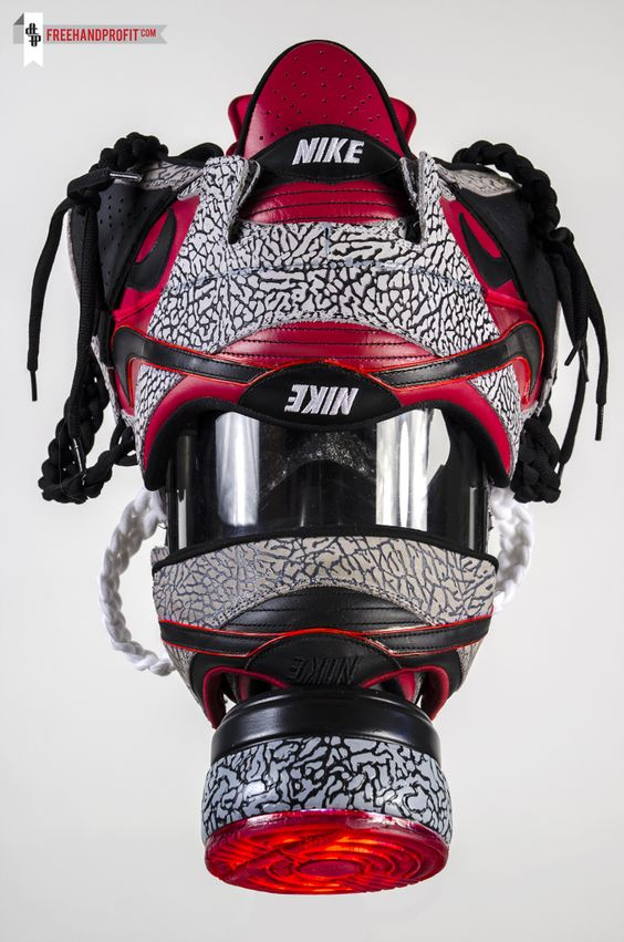 nike air max 24 7 bleu - Nike SB x Supreme Dunk Gas Mask Custom tailored. Hand made ...