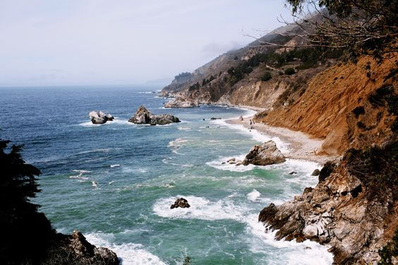 The many colors of Big Sur.Photography: Olivia Rae James