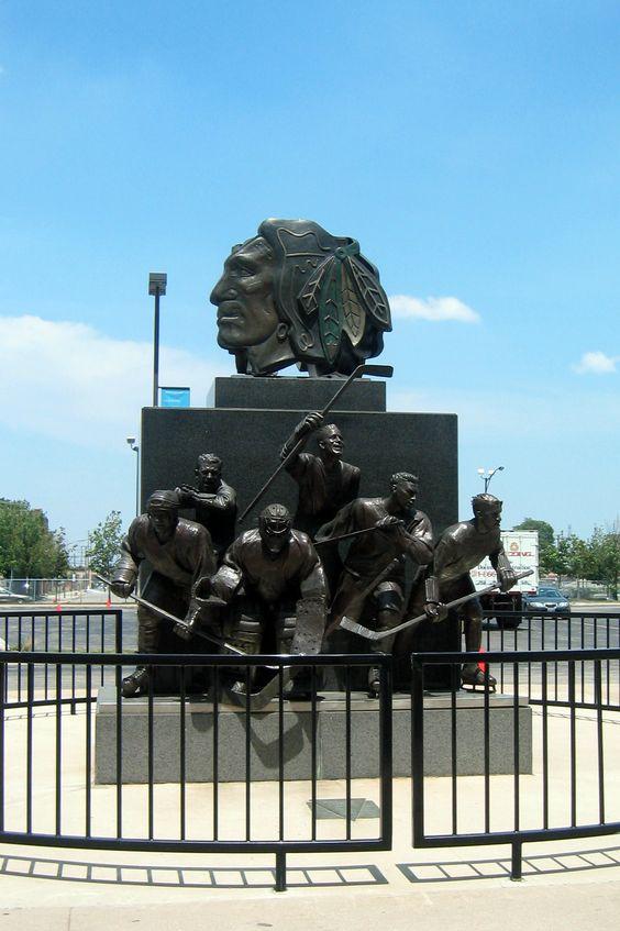United Center home of the Blackhawks