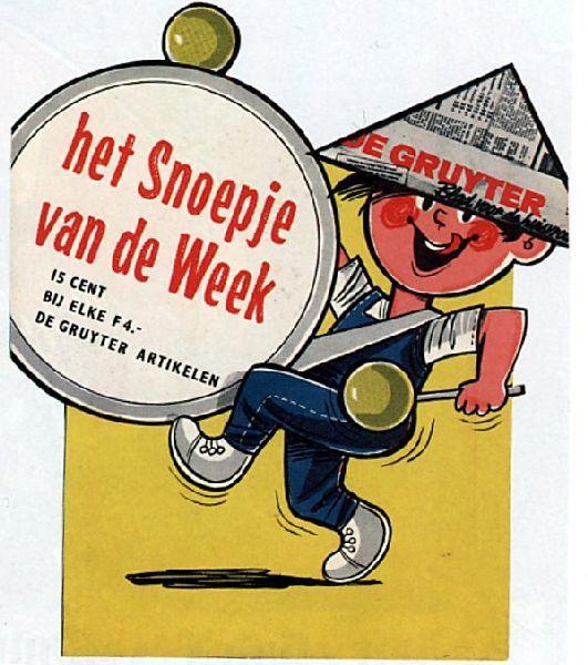 Kruidenier De Gruyter, 1 van de eerste supermarkten