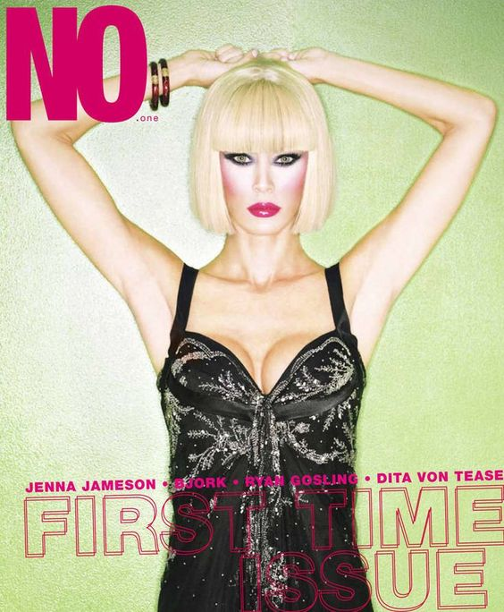 JENNA JAMESON - NO.ONE MAGAZINE  COVER PHOTOGRAPHED BY MIKE RUIZ