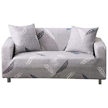 Amazon De Okjk Elastische Ecksofabezug All Inclusive Sofa Uberwurf In L Form Aus Weichem Samt Fur Loveseat Slipcovers Large Sofa Love Seat