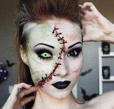 Halloween make up                                                                                                                                                     Plus