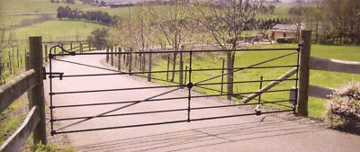 double-size gate::