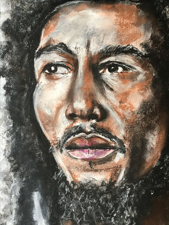 Portrait I did of Bob Marley