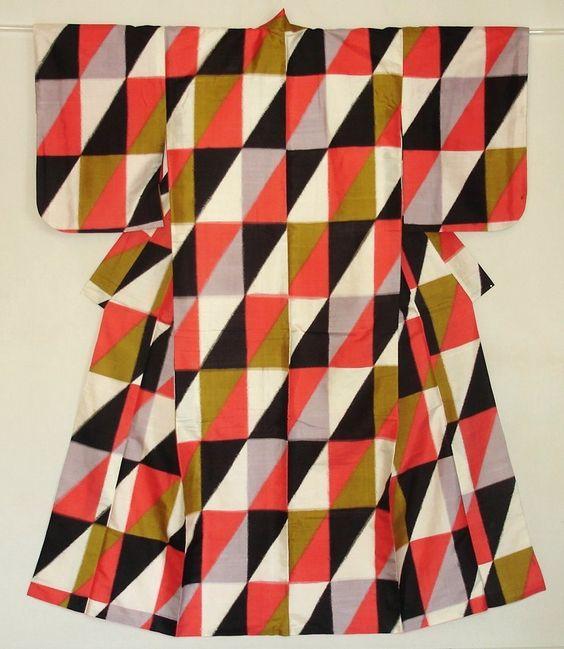 mid-century kimono from the collection of Haruko Watanabe