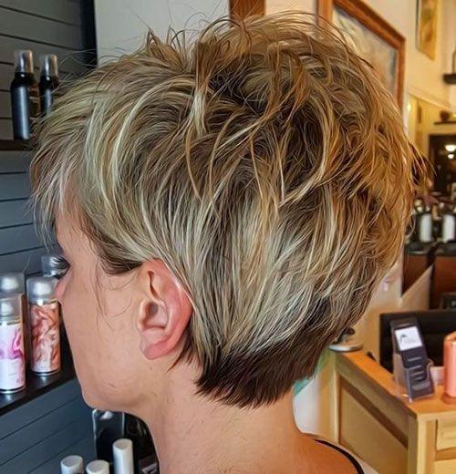 14 Short Layered Haircut For Women Short Shag Haircuts Short Hair With Layers Thick Hair Styles