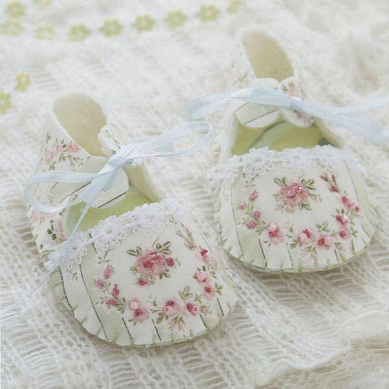 Botines beb ni os de arranque ni a ni o zapatos de tela - Zapateros de tela ...