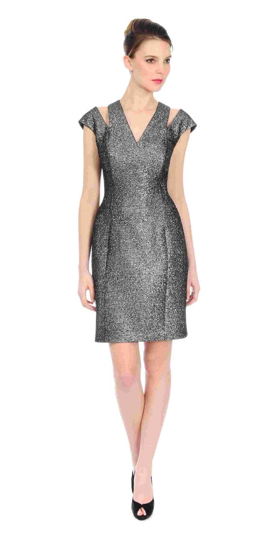 Kay Unger Sultry Smokey Cocktail Dress $400 https://www.zindigoboutique.com/kay-unger-dresses/kay-unger-sultry-smokey-cocktail-dress/