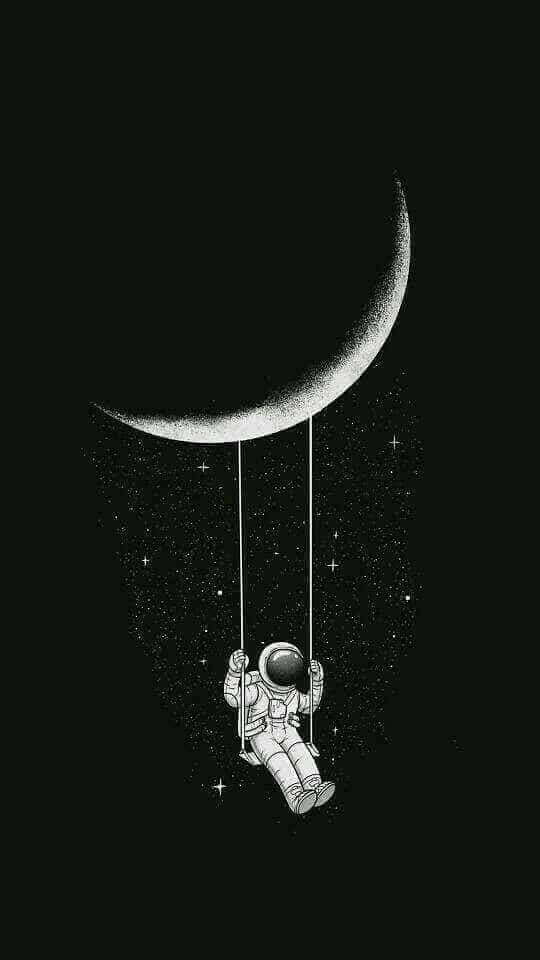 Pin By Ajsalas On Over It Astronaut Wallpaper Wallpaper Space Dark Wallpaper