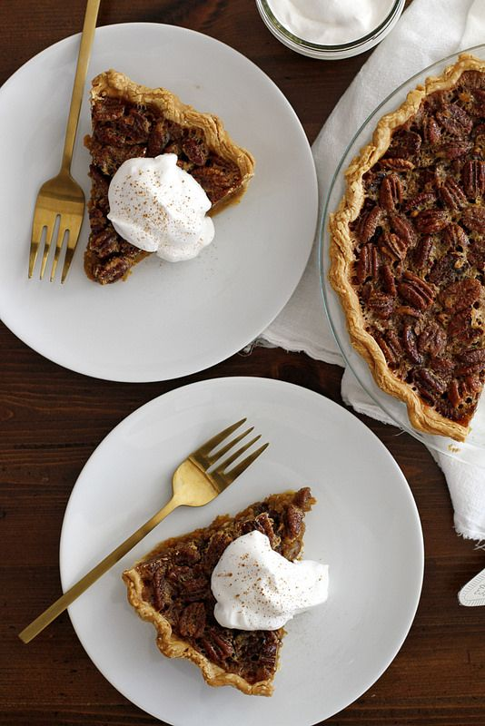 Pecan pumpkin pie, Bourbon and Whipped cream on Pinterest