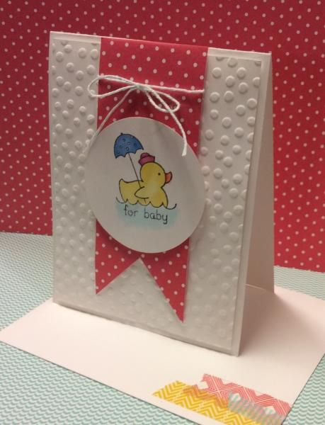 Strawberry Baby Ducky by lbirus - Cards and Paper Crafts at Splitcoaststampers
