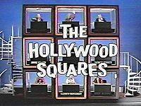 Hollywood Squares was one of my favorite game shows while growing up! The show began as a black-and-white episode  on April 21, 1965. One of my favorite stars that answered questions from the contestants, was Paul Lynde. He always sat in the center square... and his answers were always SO FUNNY!!