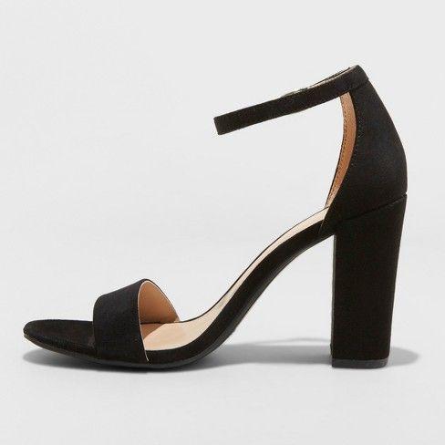 Women's Ema High Block Heel Pumps - A