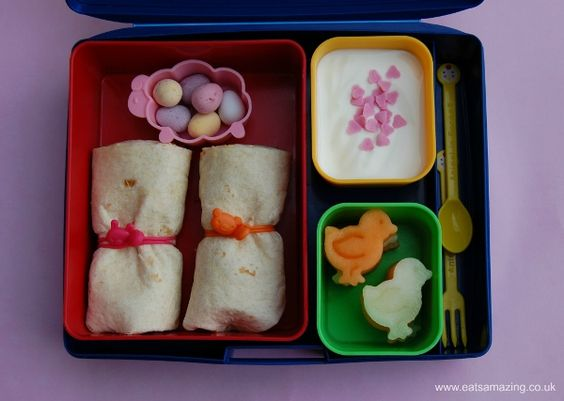 Eats Amazing - Simple Easter Lunch in Laptop Lunches Bento Box