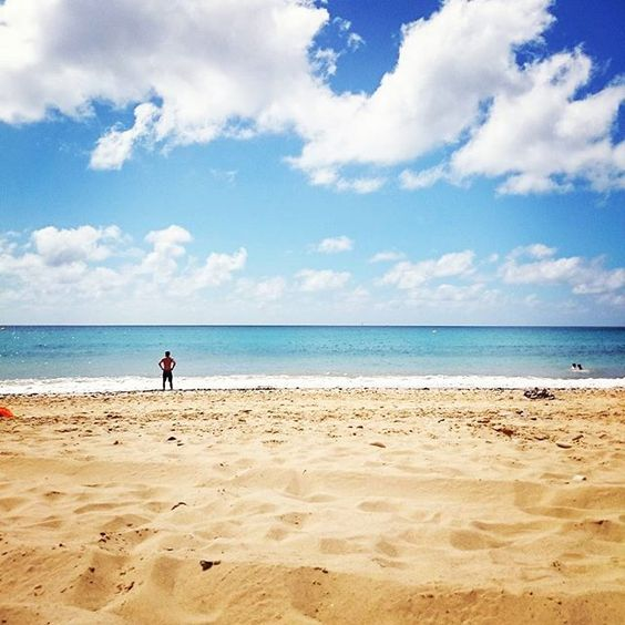Hello porto santo #portosanto #beach #places #sea #sky #faded_world #faded_portugal by joaotiagogouveia