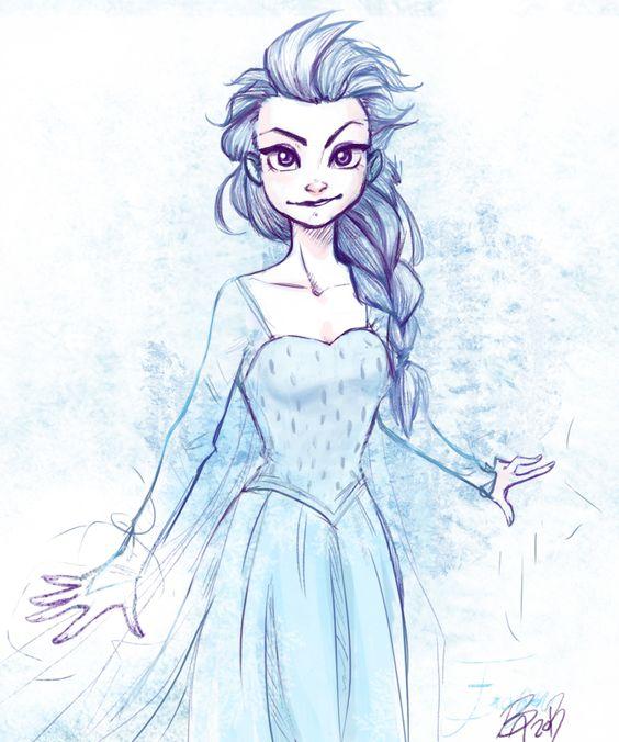Elsa by Brani-Chan.deviantart.com on @deviantART