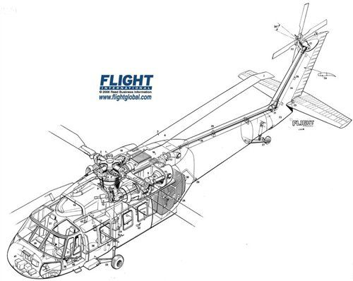 sikorsky yuh 60a blackhawk cutaway pictures photos on flightglobal airspace aereo