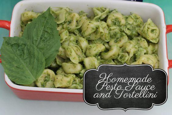 pesto sauce and tortellini #joytothetable #pmedia #ad