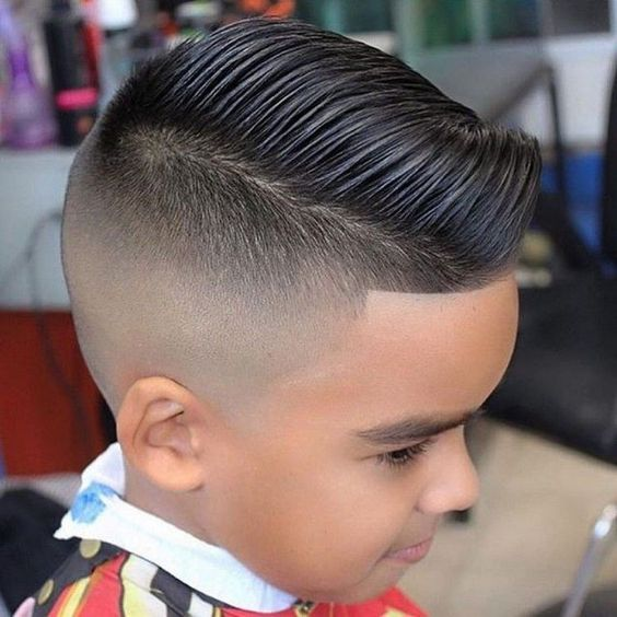 Combover Boys Haircuts