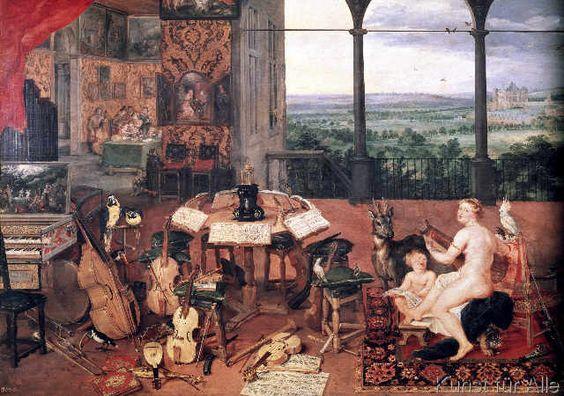 Jan Brueghel der Ältere - Das Gehör