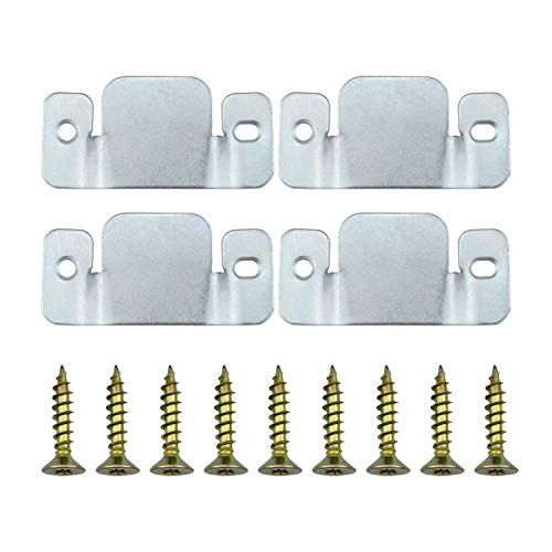 Dreamtop 4pcs Universal Metal Sectional Sofa Interlocking Furniture Connector Bracket With Screws Sectional Sectional Sofa Metal