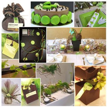 ... mariage anis coeurs mariage deco table inspiration chocolat 02 mariage