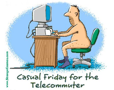 Happy Friday Pictures Funny | Friday Funny - Benefits of Telecommuting