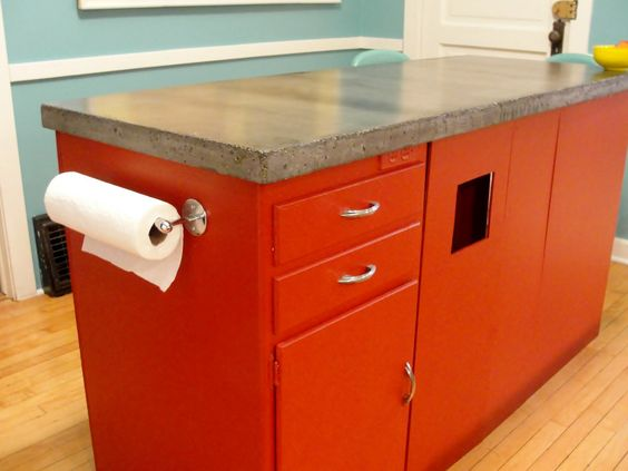 Easy do it yourself countertops home kitchens for Do it yourself kitchen ideas