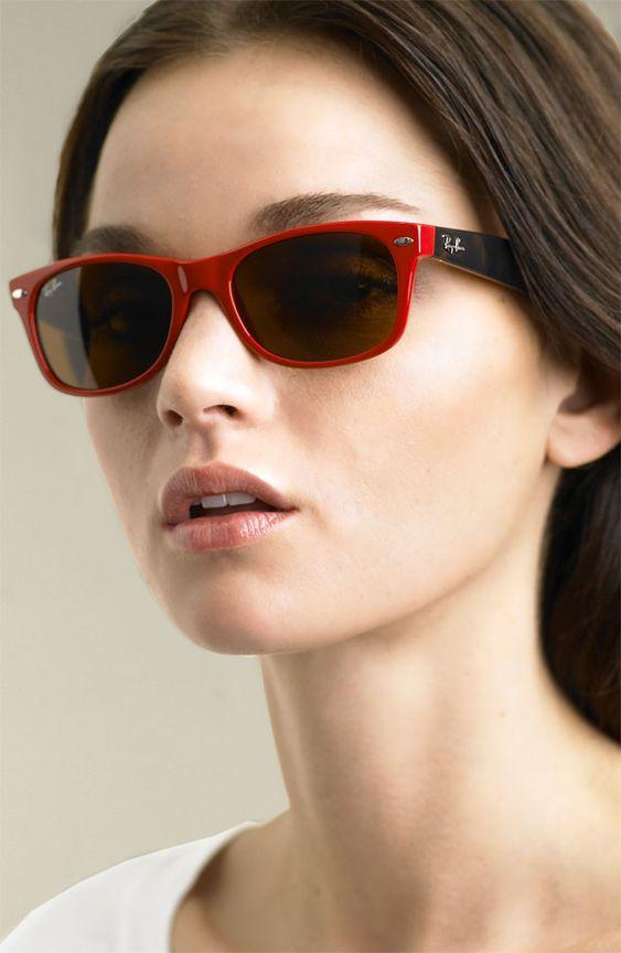 Ray Ban Wayfarer Black Circle Frame Sunglasses